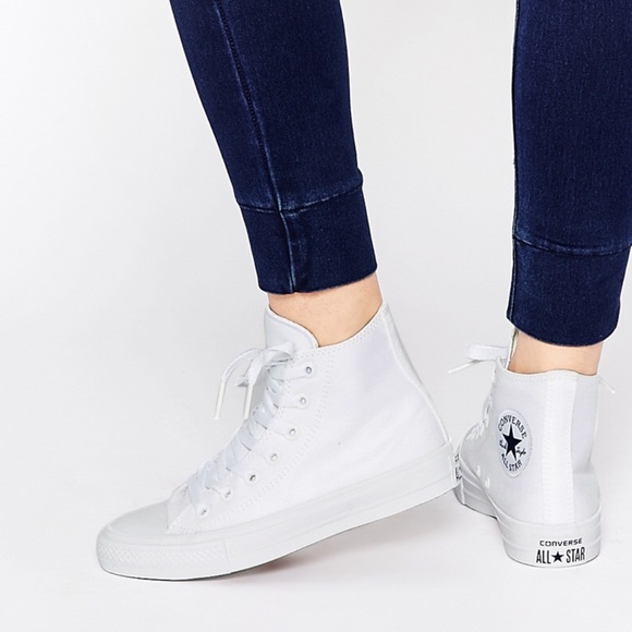 Converse Chuck Taylor 2 White White Hight Top W df5538e8fc64